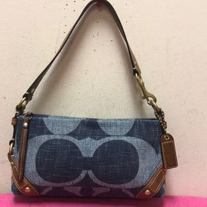 Coach Denim Purse